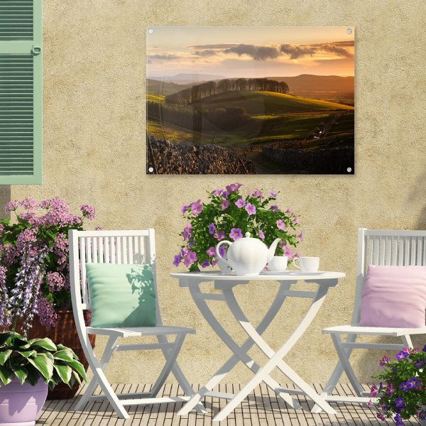 Acrylic Garden Wall Art