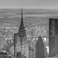 Buy canvas prints of Chrysler building, New York City  by Jon Pankhurst