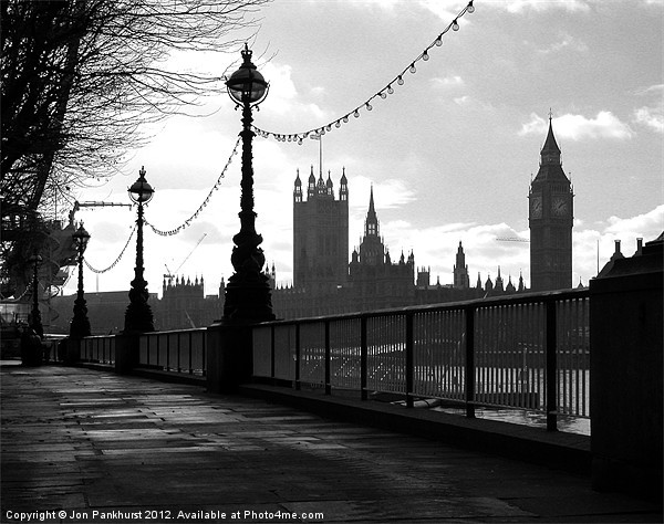 Houses of Parliament, London Canvas print by Jon Pankhurst
