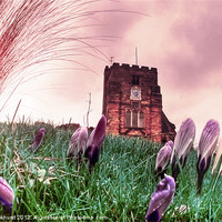 Buy canvas prints of St. Mary's Church, Goudhurst by Jonathan Pankhurst