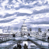 Buy canvas prints of St Pauls Cathedral by Jon Pankhurst