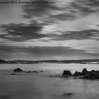 Buy canvas prints of St Michaels Mount by Night by Jonathan OConnell