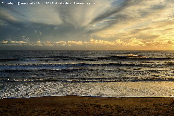 Soft Sea Breeze. Canvas print by Annabelle Ward