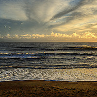 Buy canvas prints of Soft Sea Breeze. by Annabelle Ward