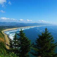 Buy canvas prints of Pacific coast, Oregon by Claudio Del Luongo