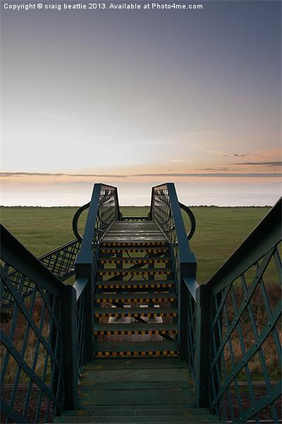 Sunrise Bridge Canvas print by craig beattie