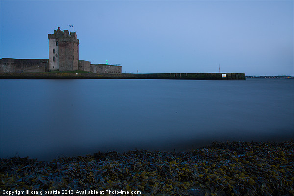 Broughty Castle, Dundee Canvas print by craig beattie