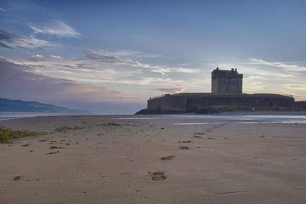 Broughty Castle Sands Canvas print by craig beattie