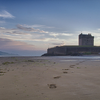 Buy canvas prints of Broughty Castle Sands by craig beattie