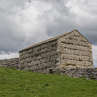 Buy canvas prints of Farm Building by David Pacey