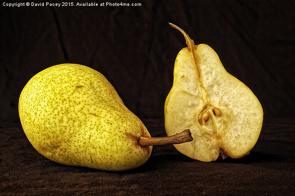 Nice Pear Canvas Print by David Pacey