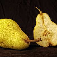 Buy canvas prints of  Nice Pear by David Pacey