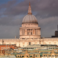 Buy canvas prints of St Pauls Cathedral by phil robinson
