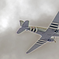 Buy canvas prints of RAF Dakota by phil robinson