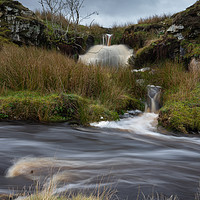Buy canvas prints of Moorland Burn by Heather Athey