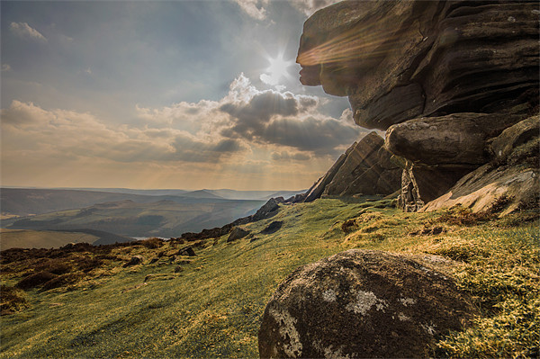 View Across Derwent Valley Canvas print by Phil Tinkler