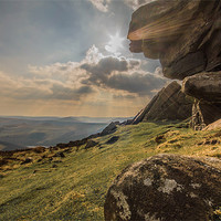 Buy canvas prints of View Across Derwent Valley by Phil Tinkler
