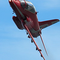 Buy canvas prints of Red Arrow by Graeme B