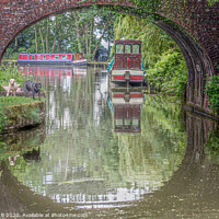 Buy canvas prints of Tiverton canal by Graeme B