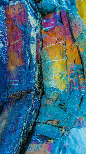 Rock True colours portrait Canvas Print by Dave Bell