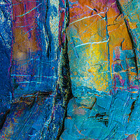 Buy canvas prints of Rock True colours portrait by Dave Bell