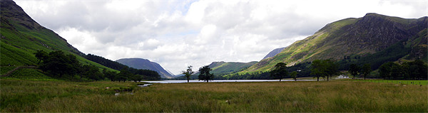 Buttermere Canvas print by Oliver Gibson