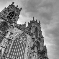 Buy canvas prints of York Minster by Martin Williams
