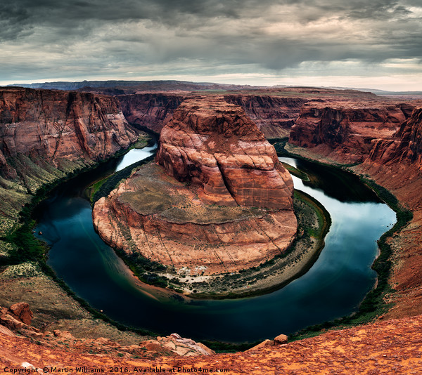 Horseshoe Bend, Arizona Canvas print by Martin Williams