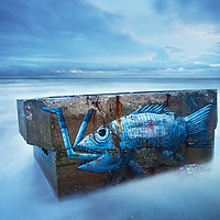Buy canvas prints of Swallowed by the Sea by Martin Williams