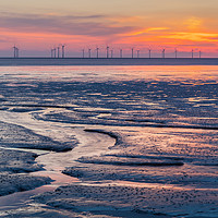 Buy canvas prints of Crosby Beach, Liverpool by Martin Williams