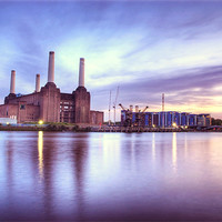 Buy canvas prints of Battersea Power Station by Martin Williams
