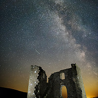 Buy canvas prints of Skelton Tower Milky Way by Martin Williams