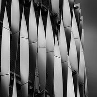 Buy canvas prints of Abstract of Victoria Gate Shopping Centre Car Park by Martin Williams