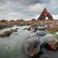 Buy canvas prints of Blackchurch Rock, North devon by Martin Williams