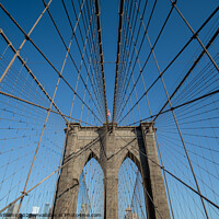 Buy canvas prints of Brooklyn Bridge by Martin Williams