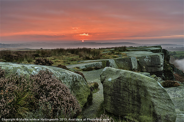Peak District Sunrise Canvas print by mhfore Photography