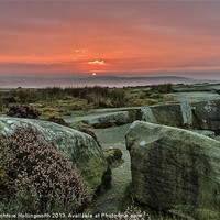 Buy canvas prints of Peak District Sunrise by mhfore Photography