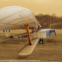 Buy canvas prints of Hawker Cygnet by mhfore Photography
