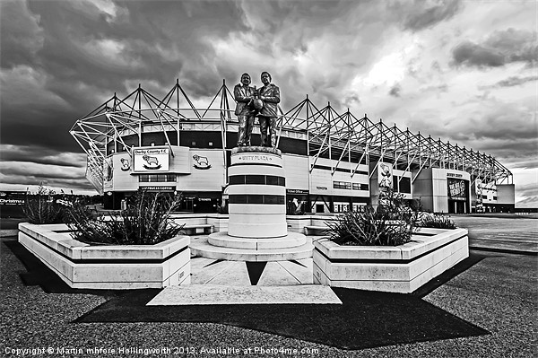 Pride Park Stadium Canvas print by mhfore Photography
