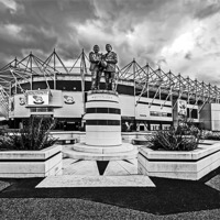 Buy canvas prints of Pride Park Stadium by mhfore Photography