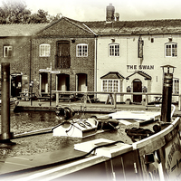 Buy canvas prints of Fradley Junction by mhfore Photography