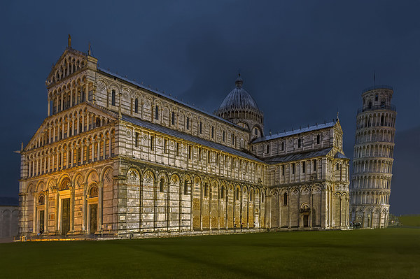 Pisa Canvas print by mhfore Photography