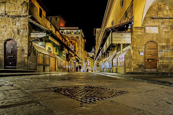 Ponte Vecchio Bridge Canvas print by mhfore Photography