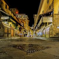 Buy canvas prints of Ponte Vecchio Bridge by mhfore Photography