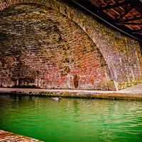 Buy canvas prints of Hungerford Bridges by Mark Llewellyn