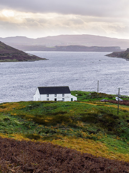 Isle of Skye Cottage Canvas print by Mark Llewellyn