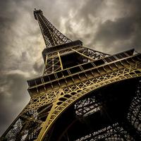 Buy canvas prints of Eiffel Tower by Mark Llewellyn