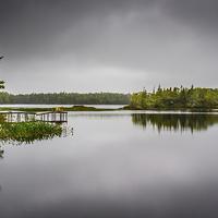 Buy canvas prints of Sisters Lake by Mark Llewellyn