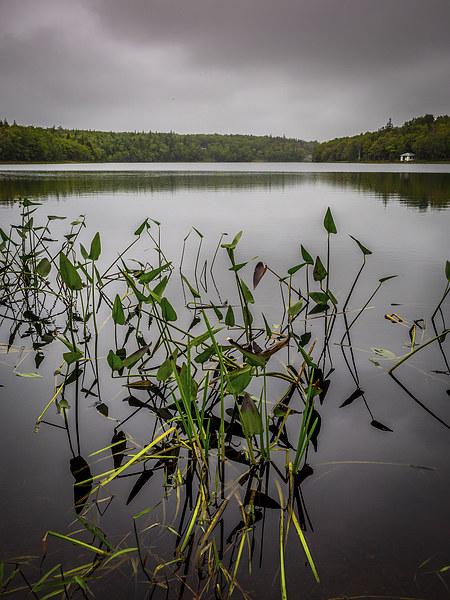 Sisters Lake Canvas print by Mark Llewellyn