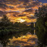 Buy canvas prints of Kennet and Avon Canal by Mark Llewellyn